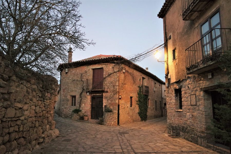 Calles del centro de Medinaceli