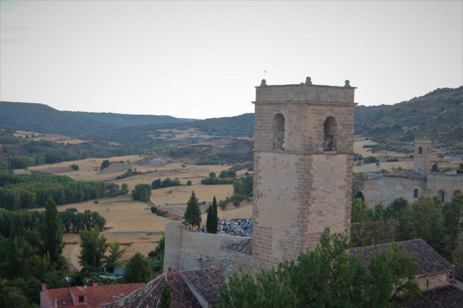 Castillo y cementerio de Brihuega