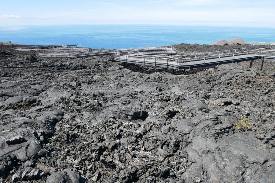 Coladas volcánicas en La Palma