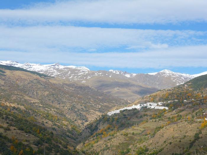 El barranco del Poqueira, Capileira