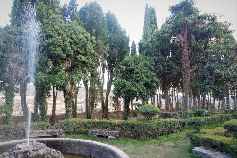 Jardín de la Fábrica, Brihuega