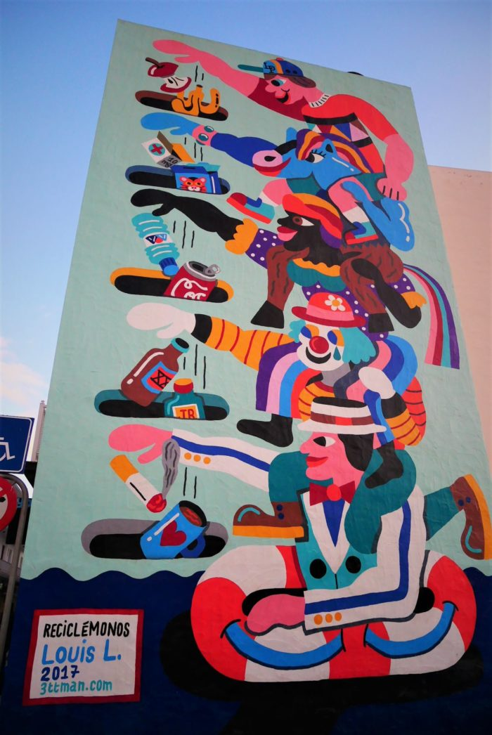 Mural en Los Llanos de Aridane