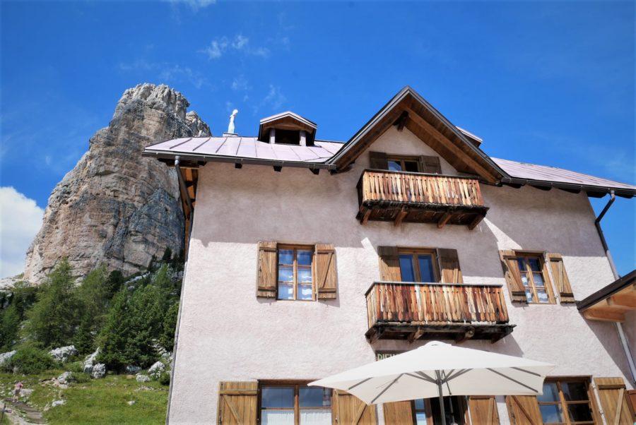 Refugio de montaña Cinque Torri