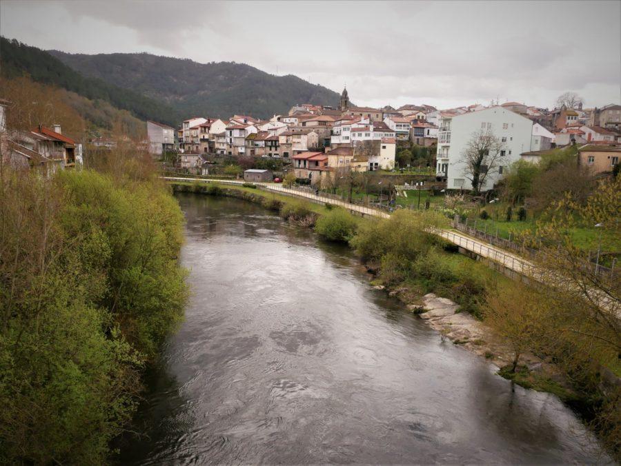 Río Avia en Ribadavia, Ourense