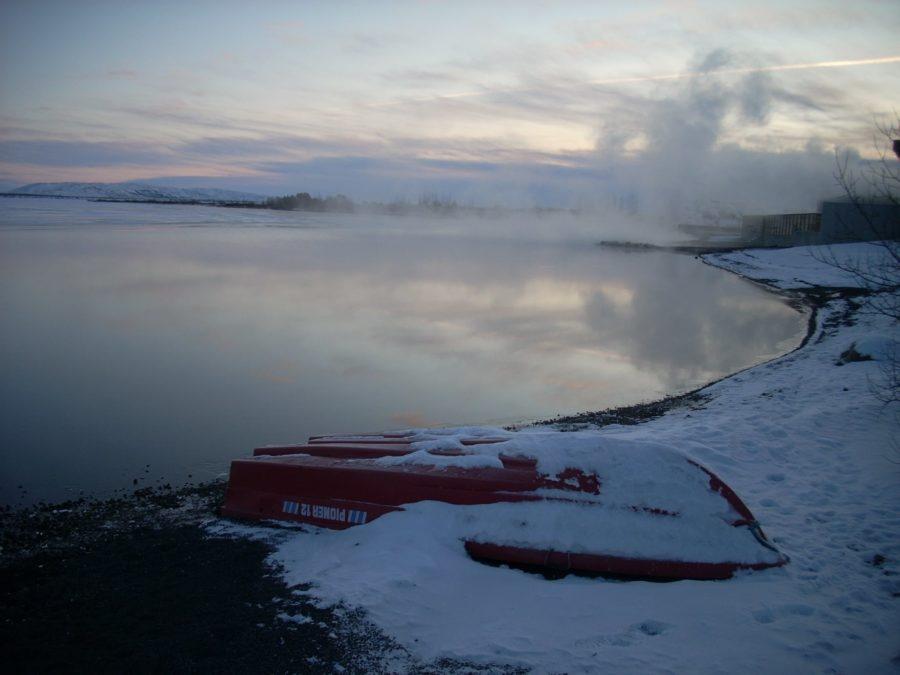 Aguas termales de Fontana, Islandia