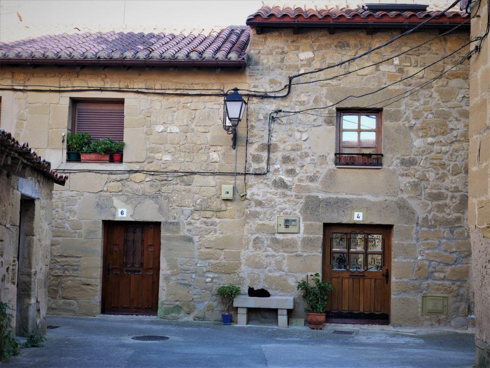 Casas de Sajazarra en la Rioja