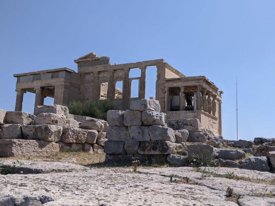 Erecteión, visita a la Acrópolis de Atenas
