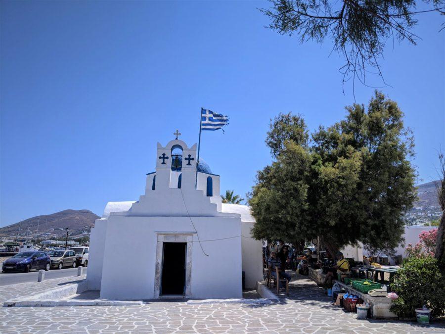 Ermita de Agios Nikolaos en Parikia