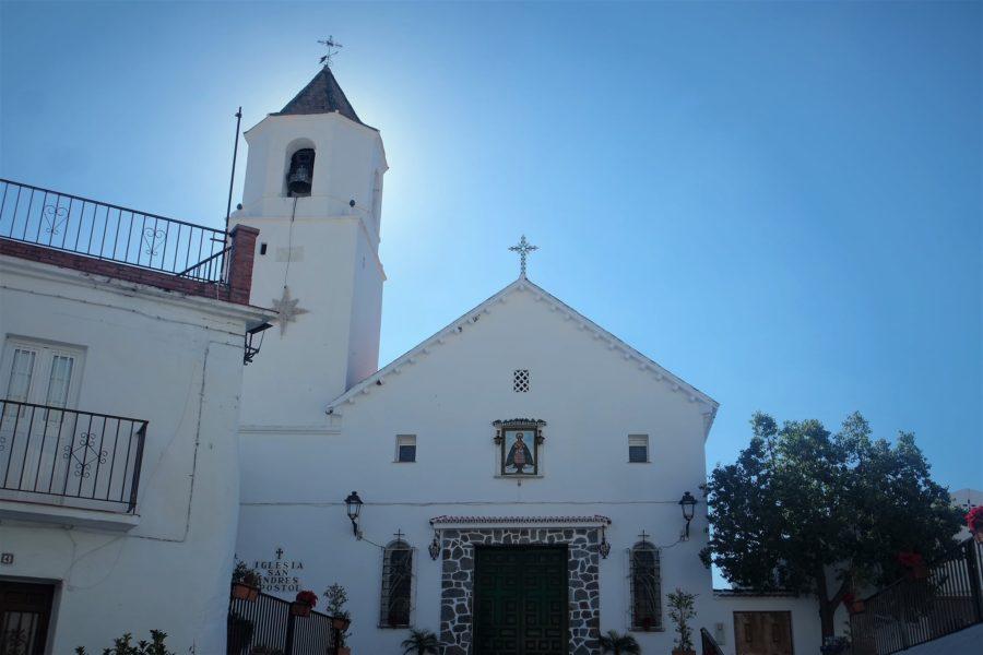 Iglesia de Sedella, la Axarquía