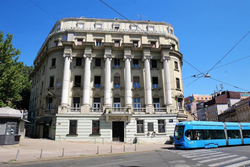 La ciudad moderna de Zagreb