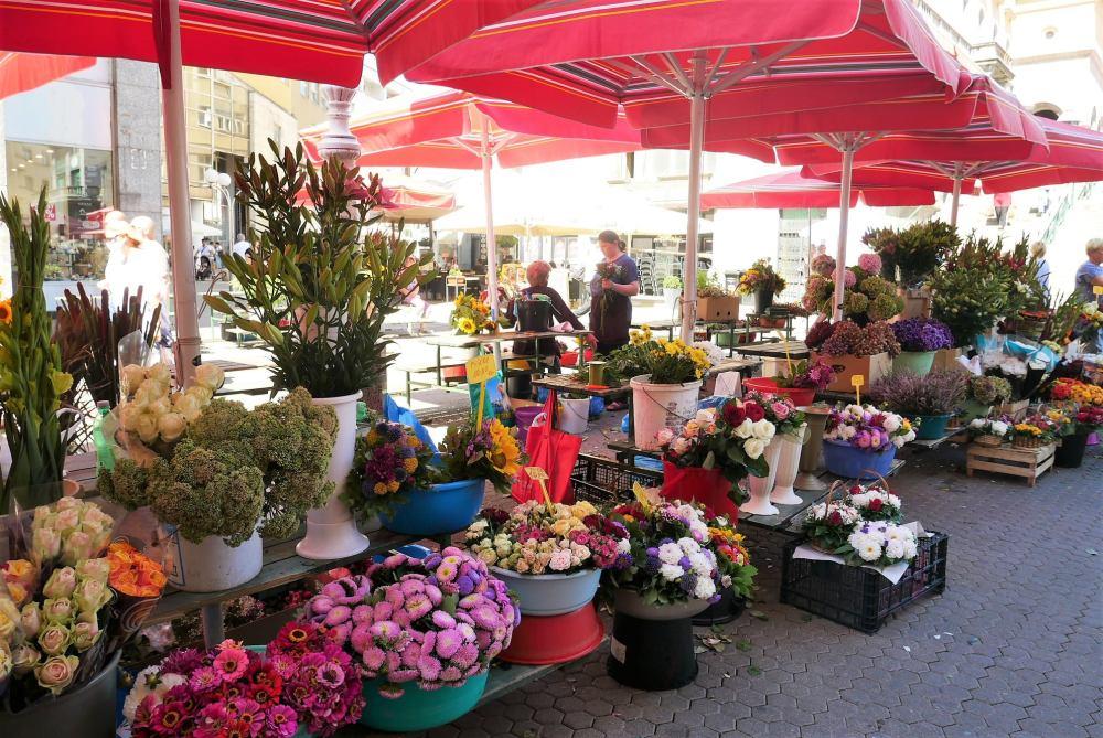 Plaza Dolac, mercado de Zagreb