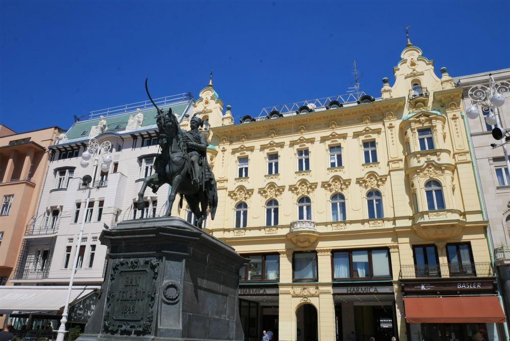 Plaza de la República, Zagreb
