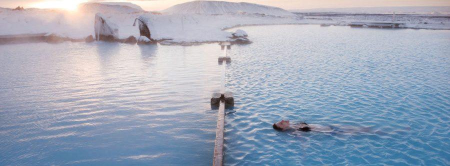 Termas naturales de Mývatn, piscinas termales de Islandia