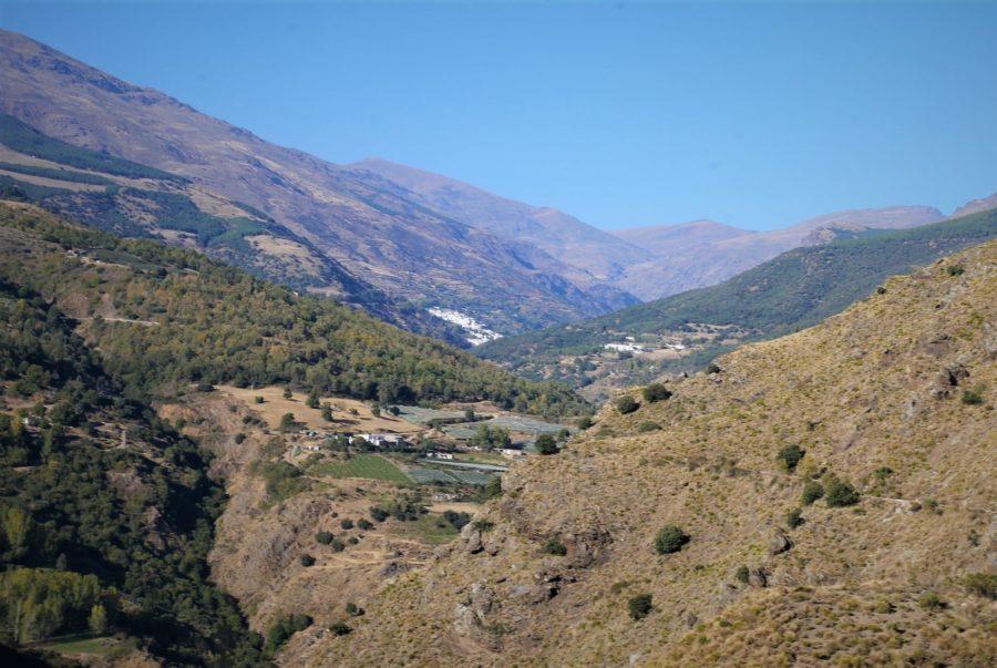 Vistas de Trevélez, rutas de senderismo en la Alpujarra granadina