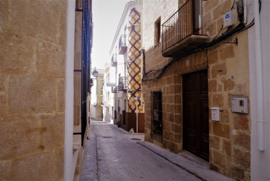 Casas típicas del centro de Jávea, Alicante