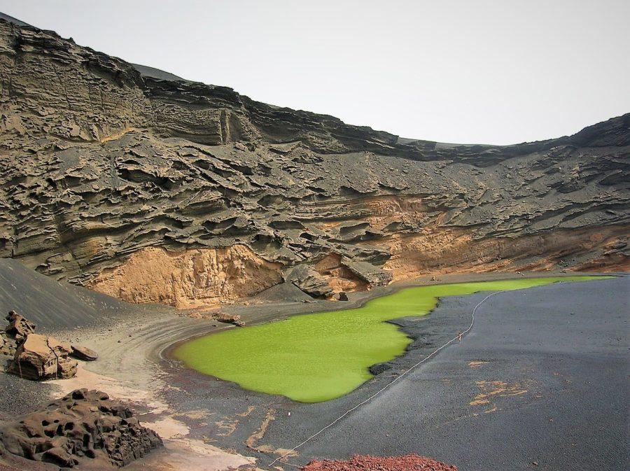 El charco verde