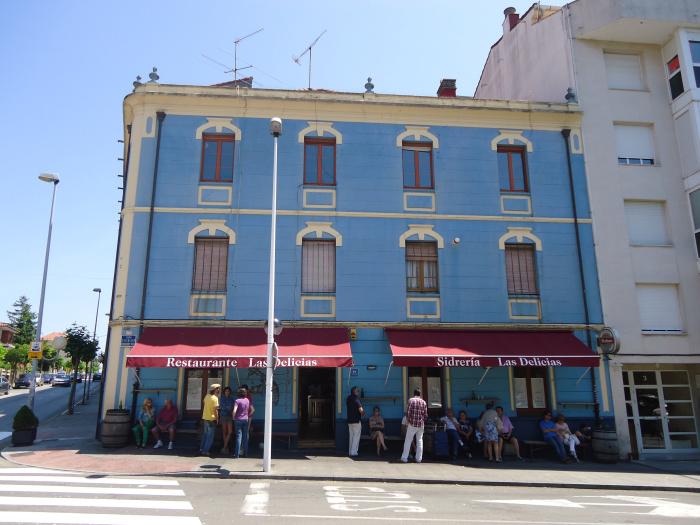 Las Delicias, dónde comer en Luanco