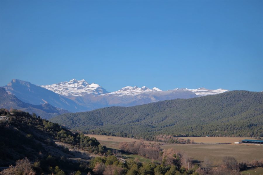 Ordesa y Monte Perdido desde Aínsa