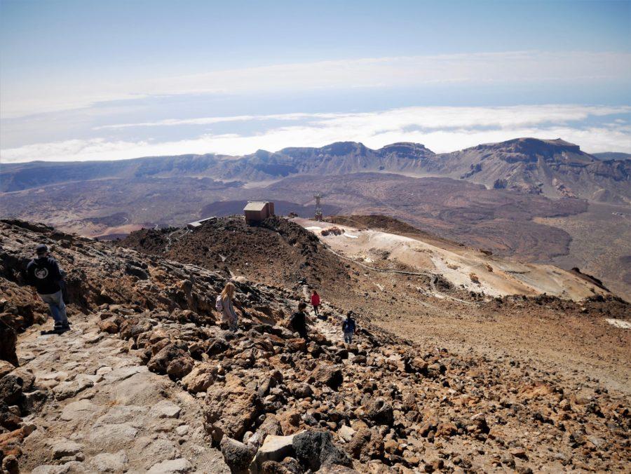 Sendero número 10, subida al Teide a pie, Tenerife