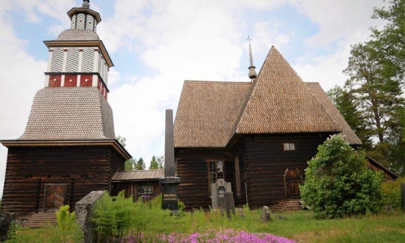 iglesia de Petäjävesi, Finlandia