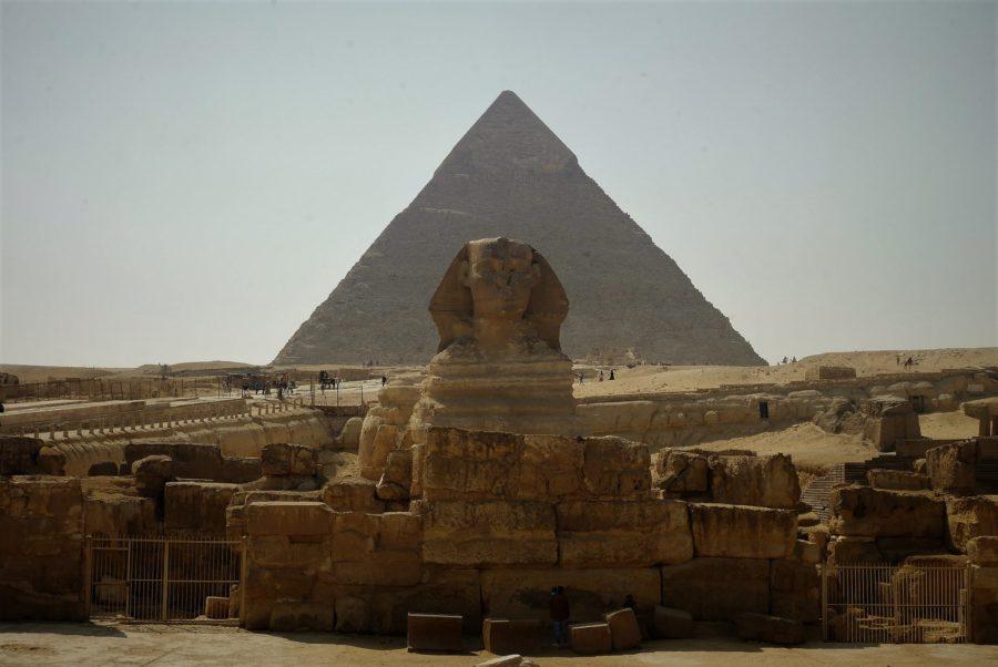 La Esfinge, viajar a Egipto en época de covid-19