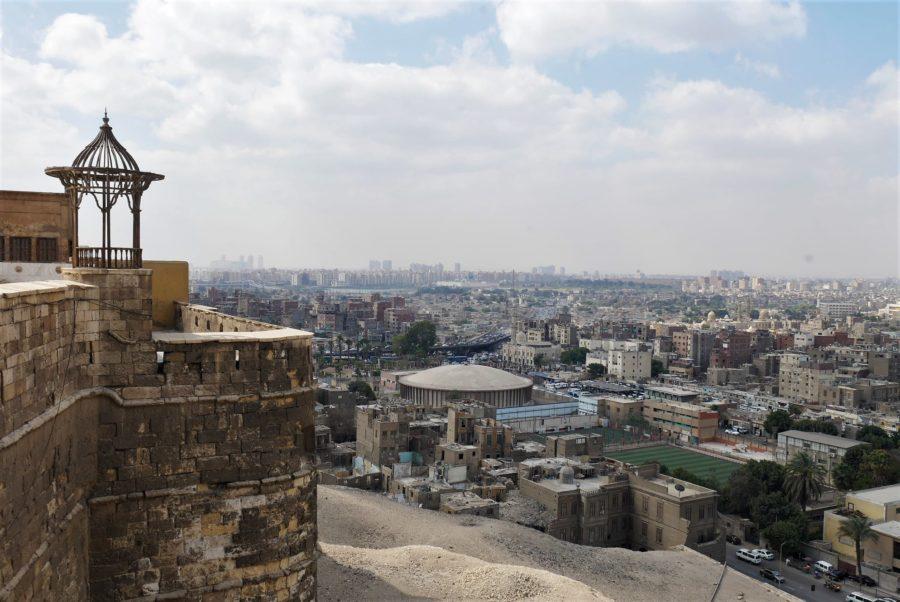Vistas de El Cairo desde la Ciudadela