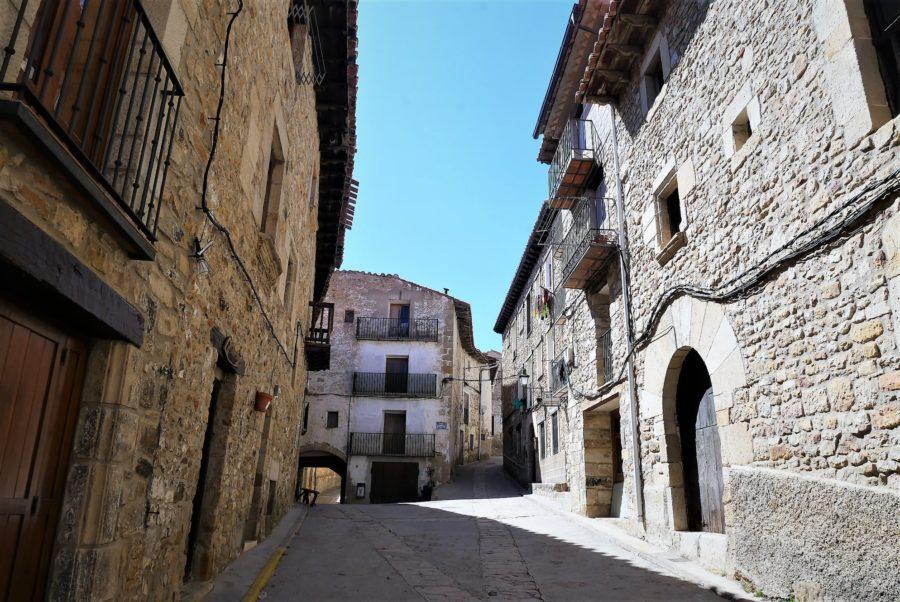 Calles de Puertomingalvo, Teruel
