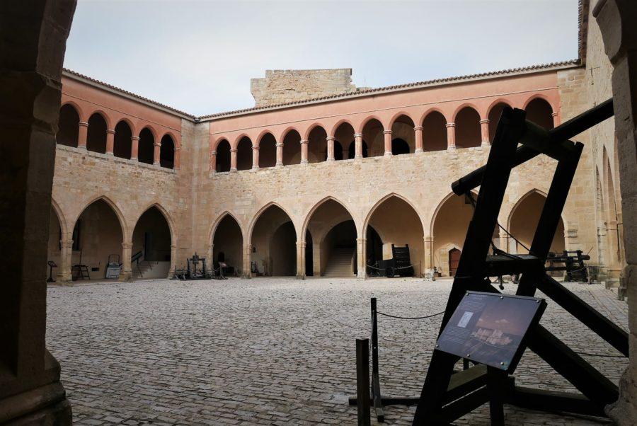Castillo de Mora de Rubielos, ruta por Gúdar - Javalambre