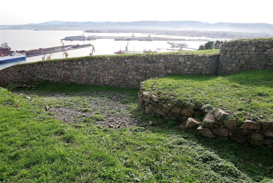 El Musel desde el Parque Arqueológico