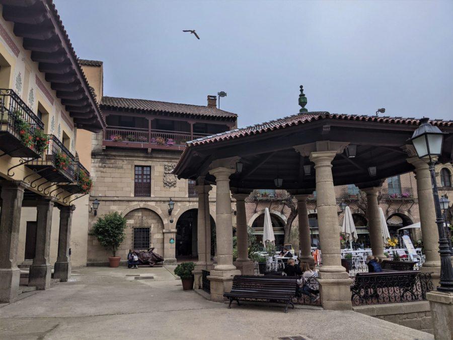 La plaza Mayor del Poble Espanyol