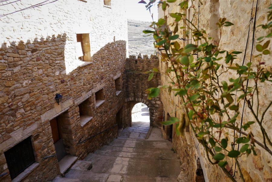 Muralla de Puertomingalvo, Teruel