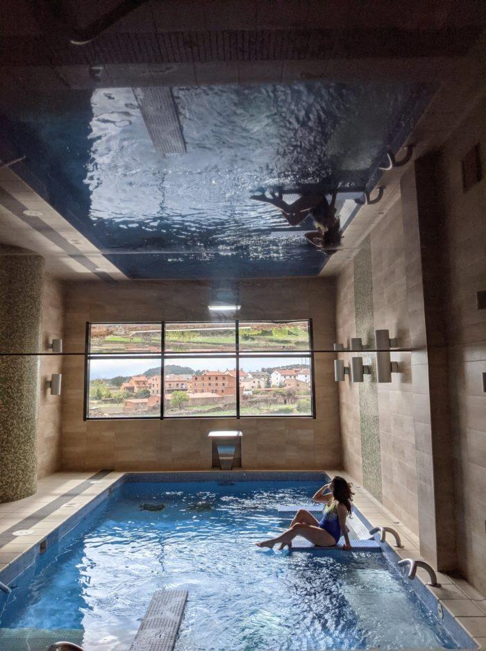 Spa, hotel la Trufa Negra en Mora de Rubielos