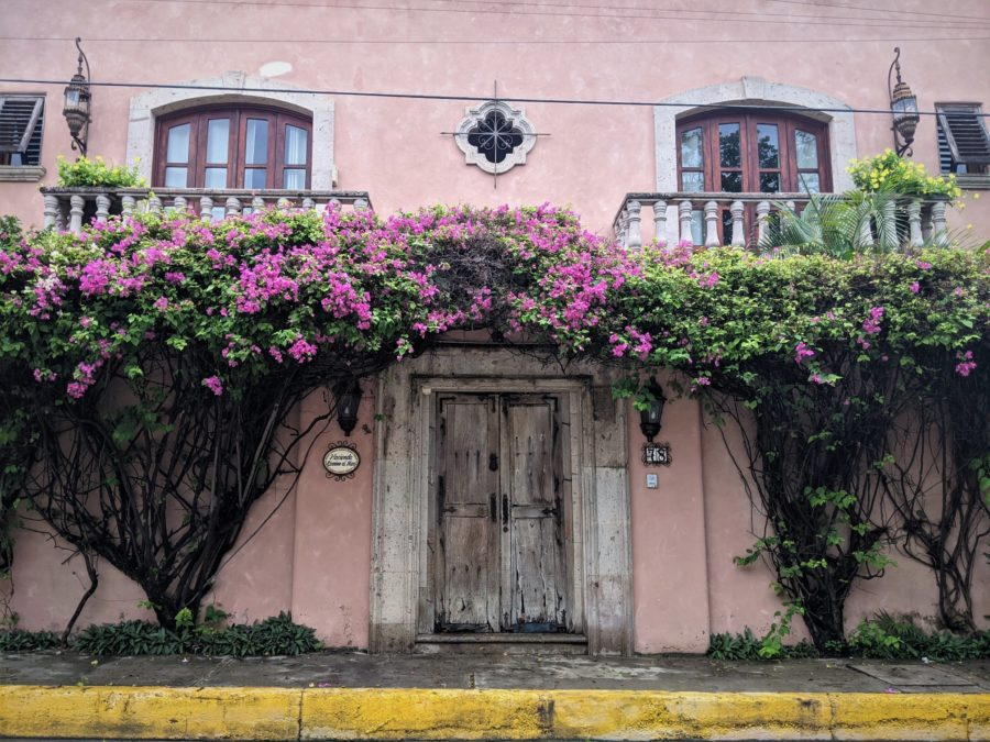 Bucerías, casa colonial