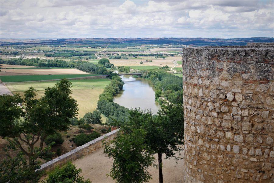 El Duero desde el Alcázar de Toro