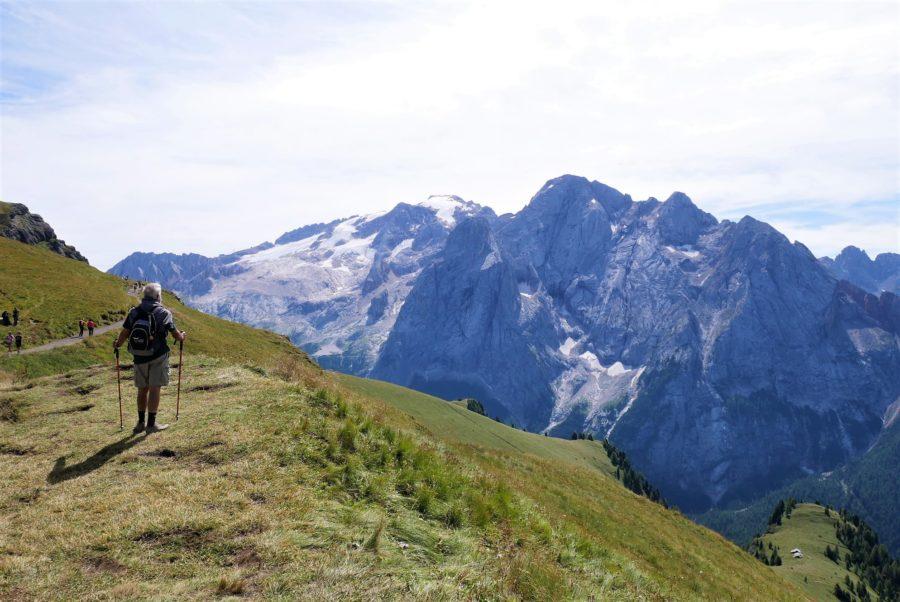 La Marmolada, la montaña más alta de los Dolomitas