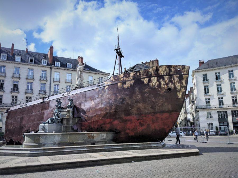 Naufragio de Neptuno, Nantes