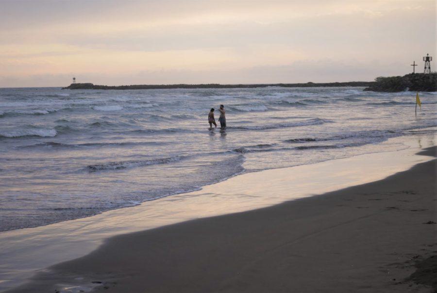 Playas de San Blas al atardecer