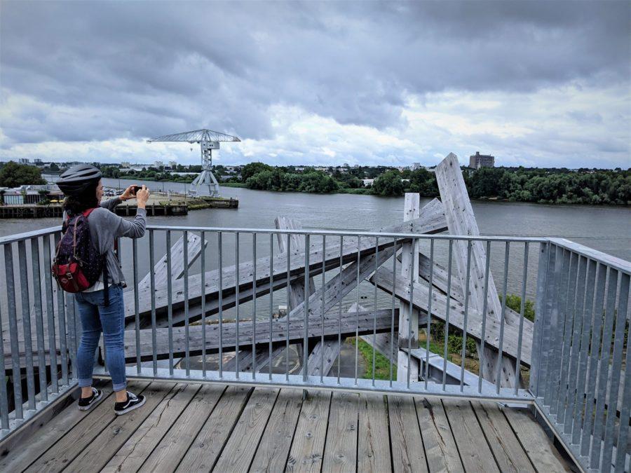 Un nido gigante sobre el Loira