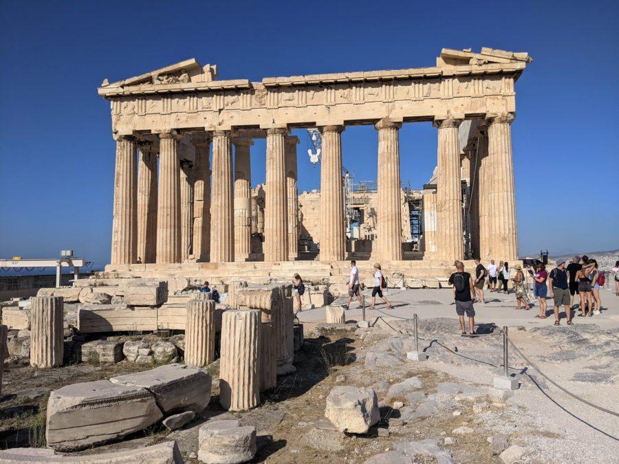 El Partenón, la Acrópolis de Atenas