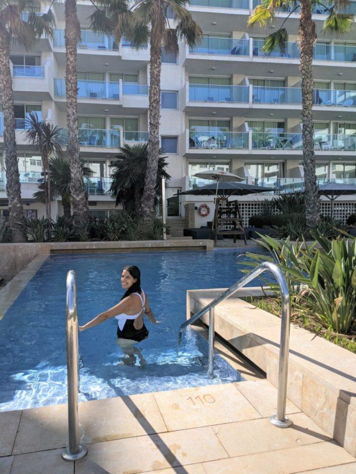 Piscina del hotel Blaumar de Salou