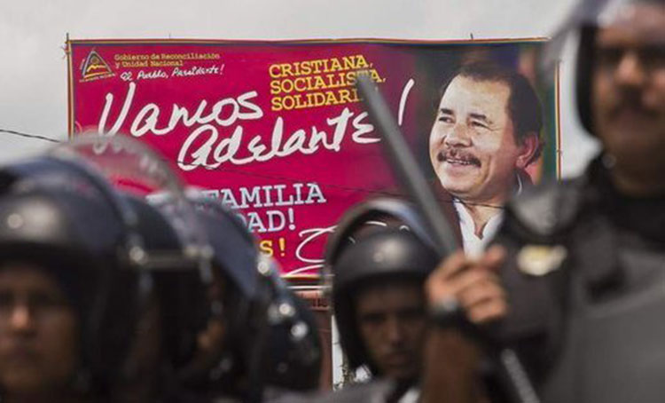 Dictadura de Ortega, violencia