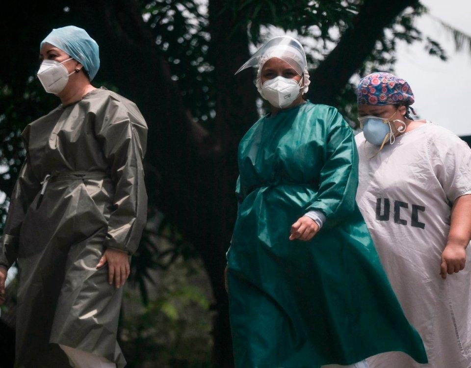 Observatorio Ciudadano informa del avance del Coronavirus en Nicaragua /Cortesía