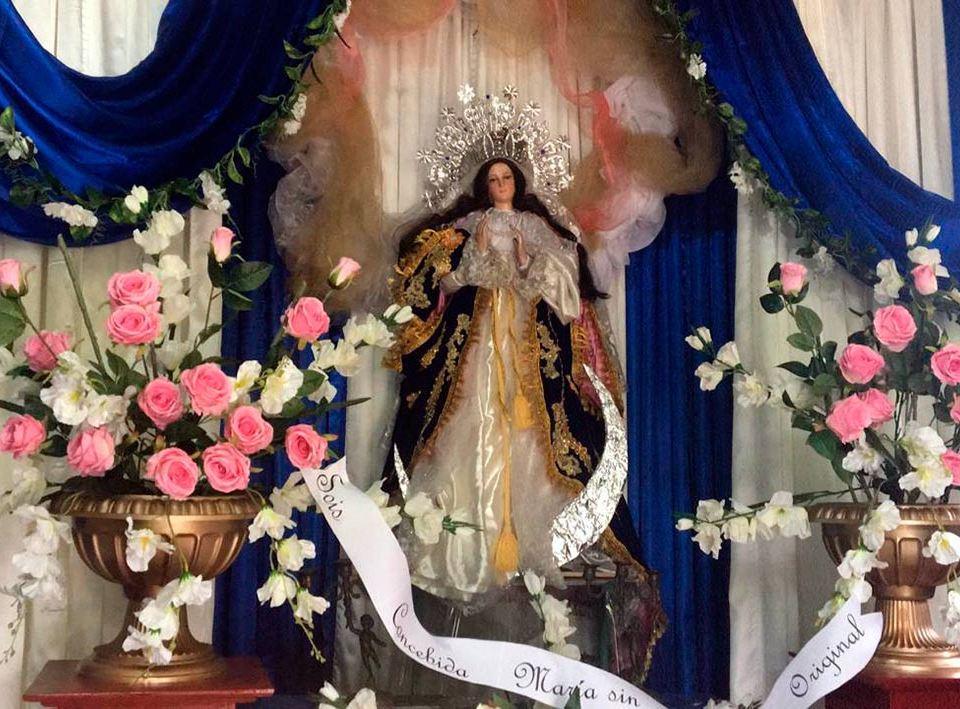 Monseñor Álvarez invitó a la población a celebrar la Purísima desde casa. Cortesía