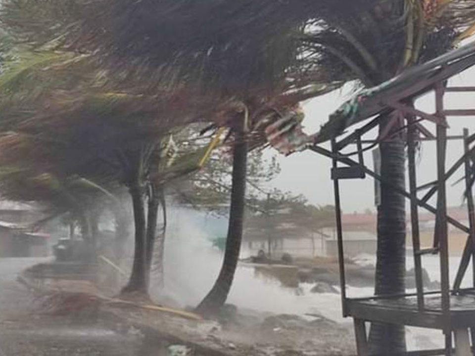 Devastación en el Caribe Norte por causa del huracán Iota