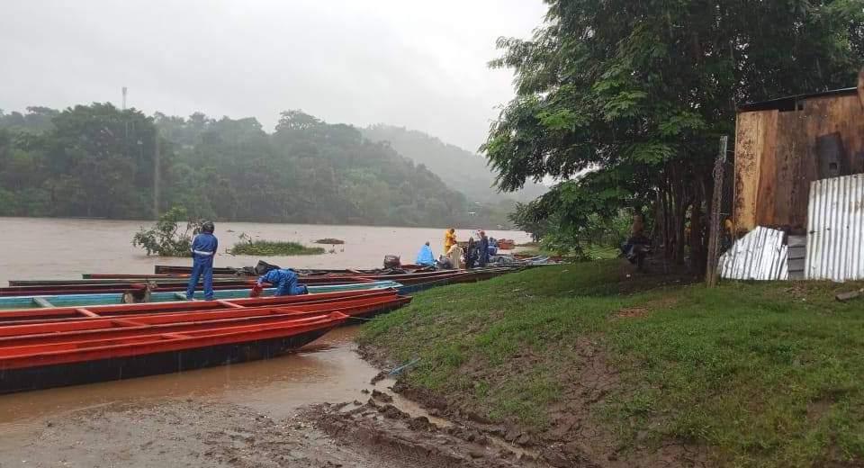 Crecimiento del Río Coco. Cortesía