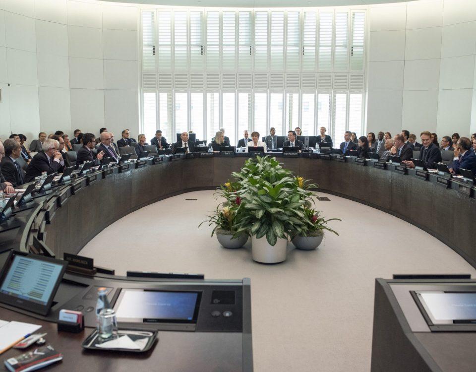 Junta directiva del Fondo Monetario Internacioanal