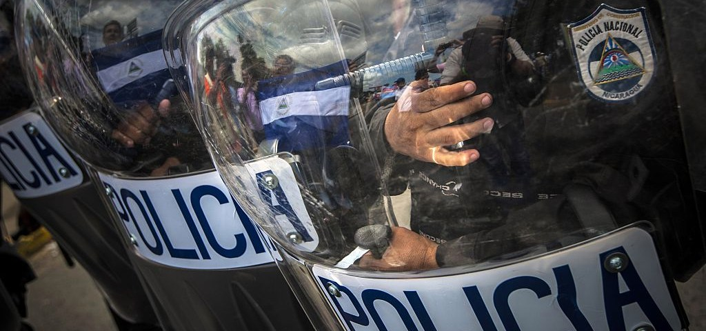 Entre las instituciones más denunciadas en la CPDH está la Policía Nacional. Cortesía