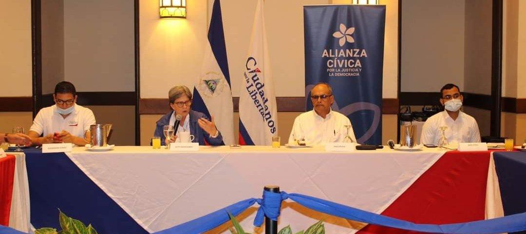 Alianza Cívica y Ciudadanos por la Libertad formalizan su unión