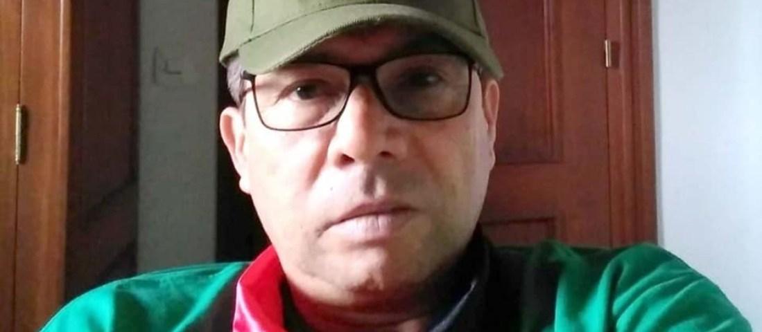 José Castillo Vanegas es conocido entre la comunidad nicaragüense en España como un radical fanático de Ortega. Cortesía