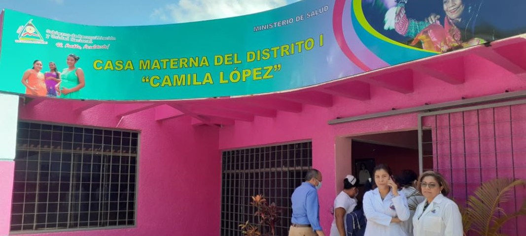 """Rosario Murillo a través de sus medios propagandistas anunció el inicio de operaciones de la casa materna """"Camila López"""". Cortesía"""